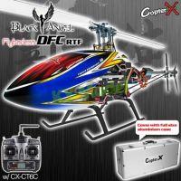 CopterX CX450 Black Angel DFC Flybarless 2.4GHz RTF