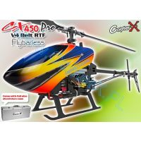 CopterX CX 450 PRO V4 Flybarless Belt Version 2.4GHz RTF